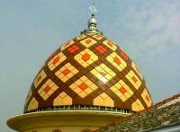 bentuk kubah masjid